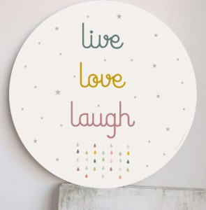 Plakat  live, love, laugh - HACIENDO EL INDIO