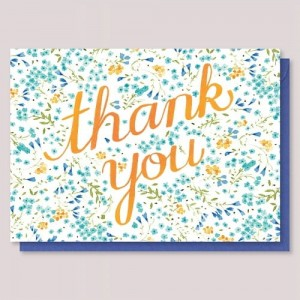 Kartka Floral Thank You - Vikki Chu