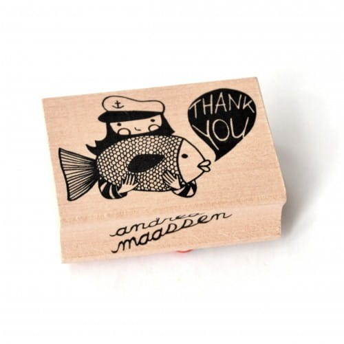 Stempel thank you big fish